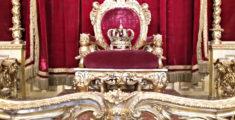 Trono di Palazzo Reale a Genova