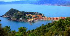 L'isola di Sestri Levante vista dalla Mandrella