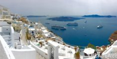 Santorini in panoramica