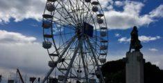 La ruota panoramica di Chiavari (foto)