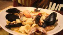 Orecchiette ai frutti di mare