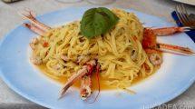Tagliolini con scampi e gamberetti: dalla Puglia con amore