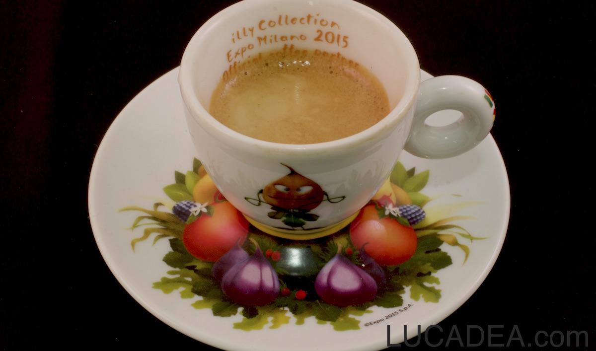 Tazzina e caffe Illy per Expo 2015 (foto)