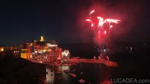 2016 - I fuochi d'artificio a Vernazza
