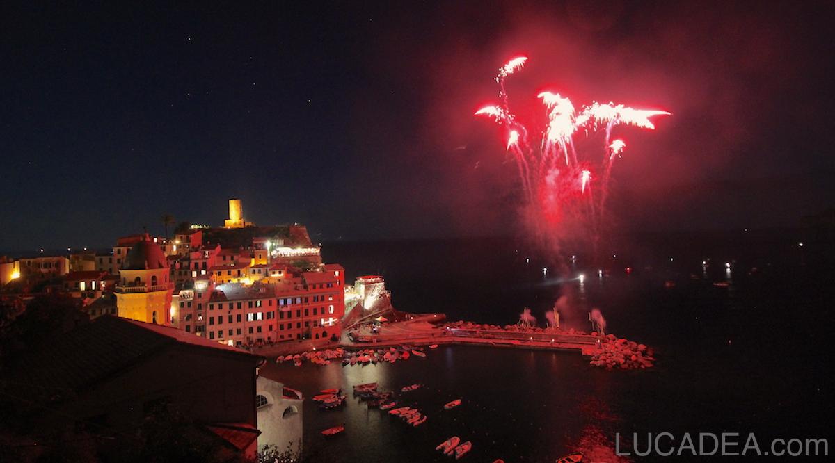 2016 - I fuochi d'artificio a Vernazza
