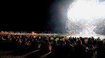 Fuochi d'artificio a Chiavari il 3 luglio 2016