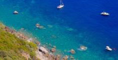 Mare blu in Liguria