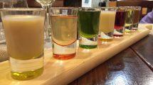Mix di liquori locali