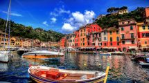 Portofino dal mare