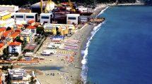 Spiaggia di Riva Trigoso il 4 luglio 2016