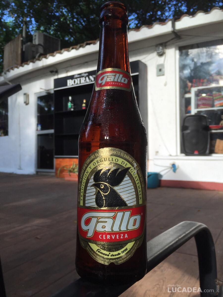 Birra Gallo, bionda del Guatemala