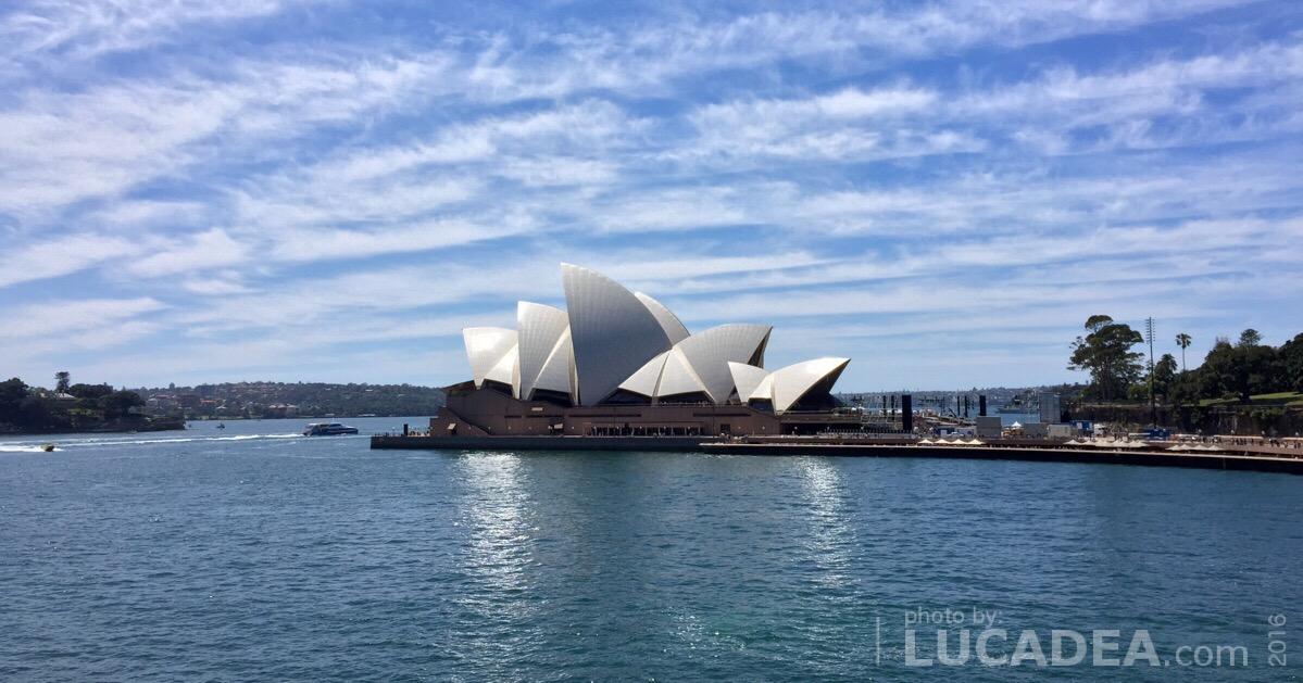 Sydney Opera House: il teatro dell'opera di Sidney (foto)