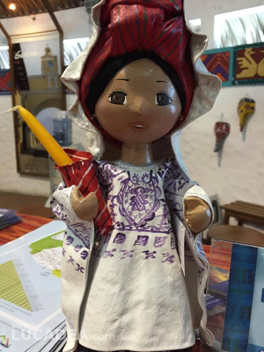 Bamboline tipiche del Guatemala