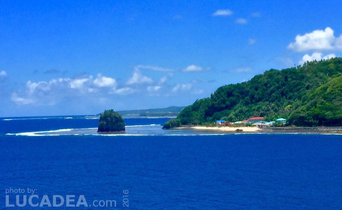 Isoletta di Fatu Rock a Samoa (foto)