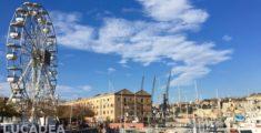 Porto Antico di Genova e la ruota panoramica (foto)