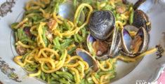 Tagliolini al sugo di vongole (foto)