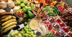 Bancarella di frutta tropicale (foto)