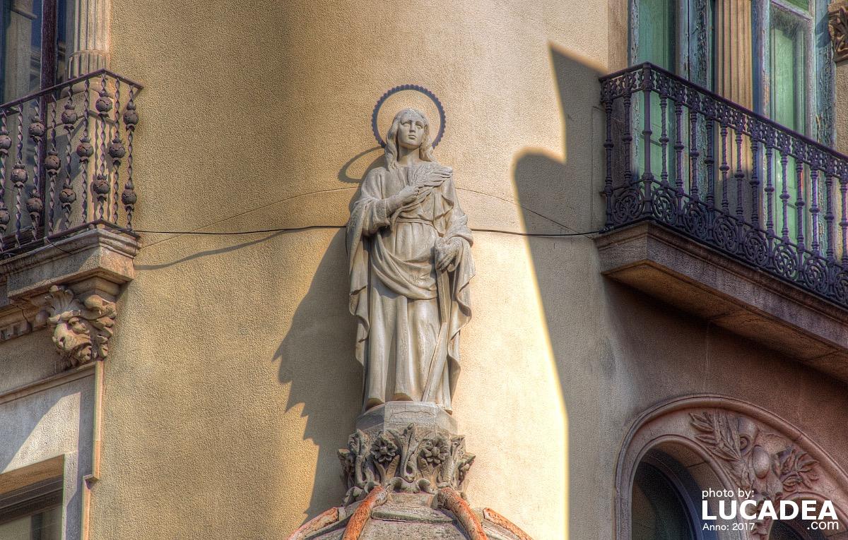 Madonnina a Barcellona