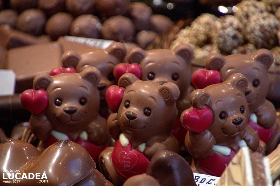 Orsetti di cioccolato
