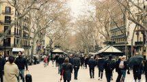 La rambla di Barcellona (foto)