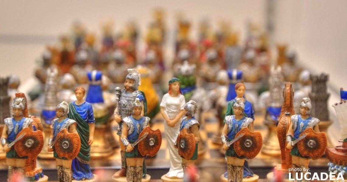 Scacchi di antichi romani