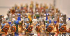 Scacchi di antichi romani (foto)