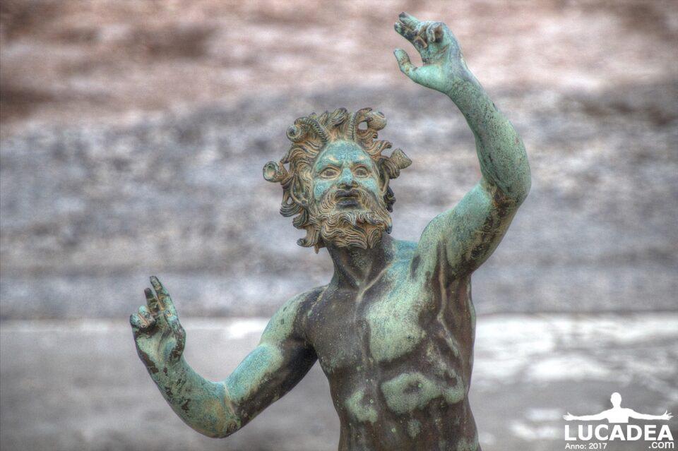 il fauno di pompei