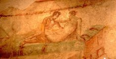 Affresco del lupanare di Pompei