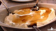 Dessert greco: yogurt e miele