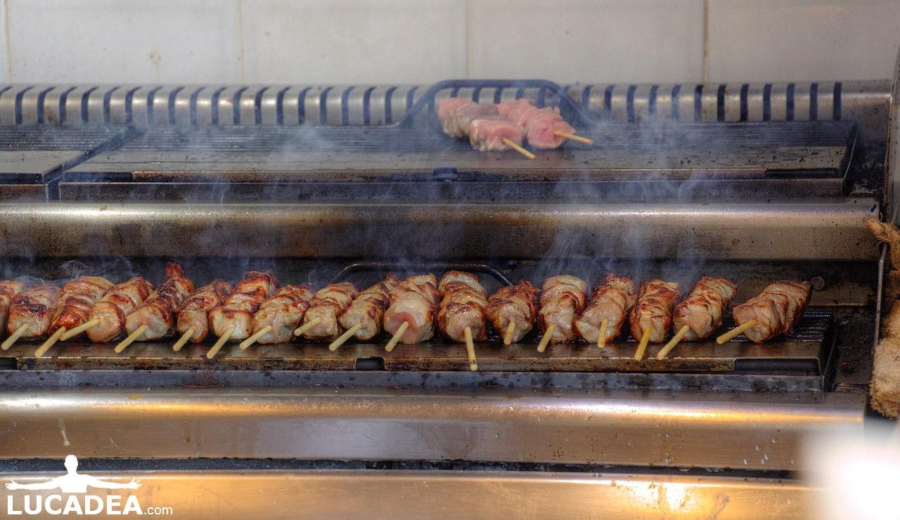 griglia souvlaki