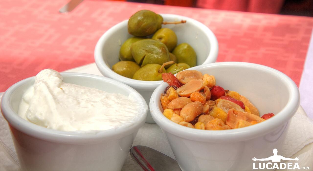 Snack spagnoli come aperitivo