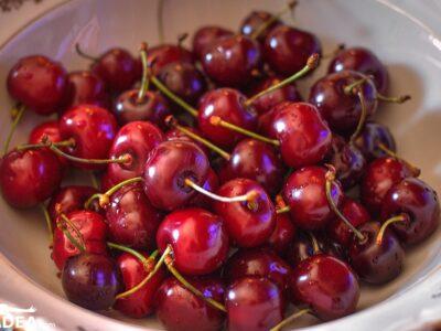 ciliegie rosse scure