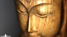 Statua asiatica in legno dall'Indonesia