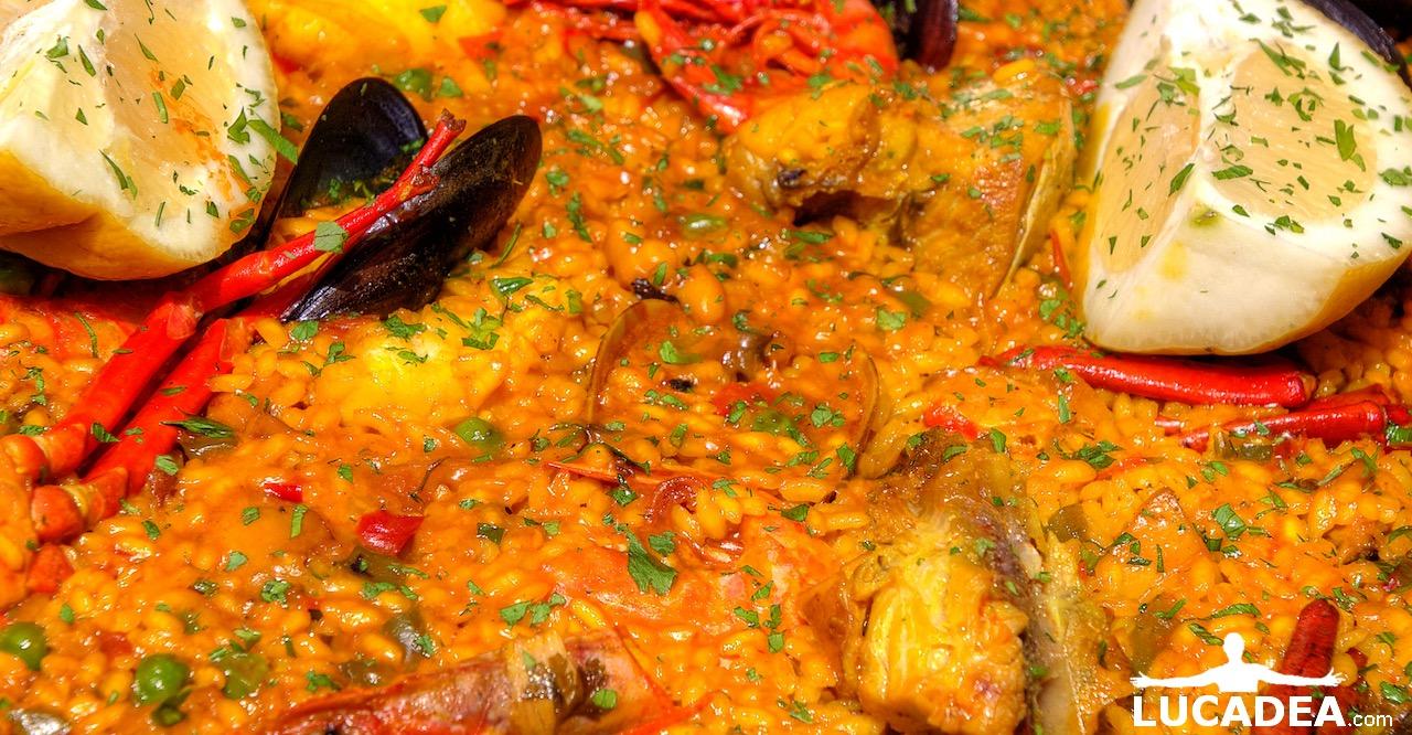 Paella spagnola