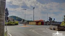 La rotonda dello stadio di Sestri Levante