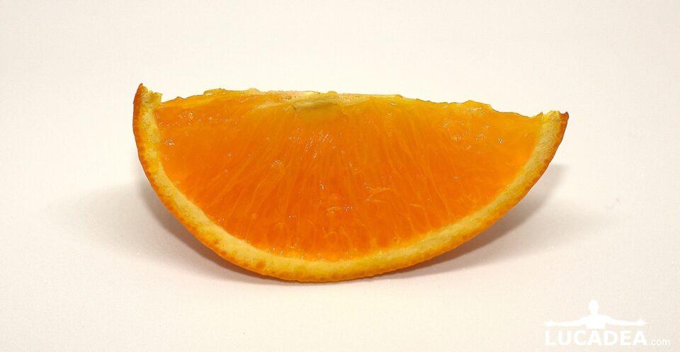 spicchio di arancia