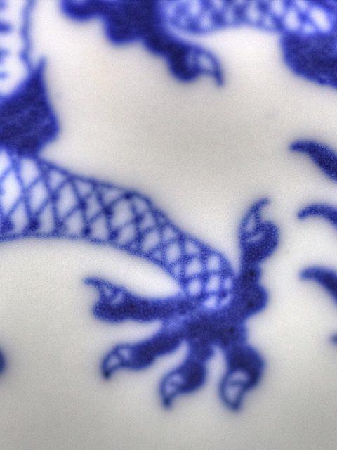 tazza cinese macro