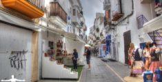Stradine di Ibiza