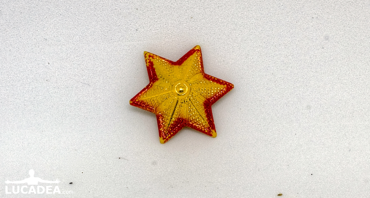 spilla stella commissari