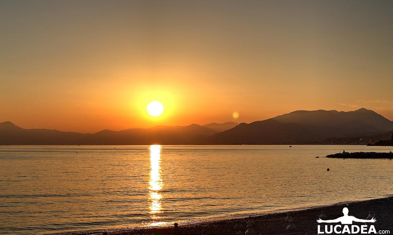 tramonto a ponente