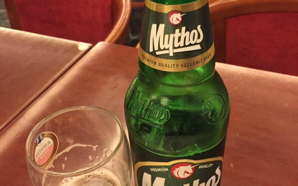 birra greca mythos