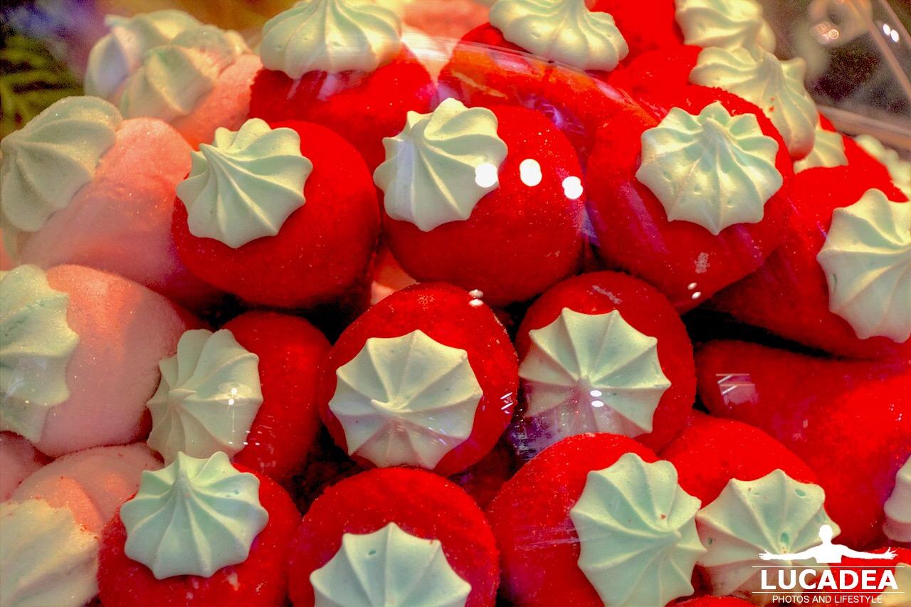 Fragole dolcissime di zucchero fotografate a Venezia