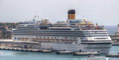 Costa Fascinosa in porto a Ibiza