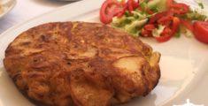 Frittata di patate spagnola anche detta tortilla (foto)