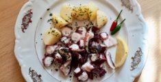 Insalata di polpo con patate, la ricetta