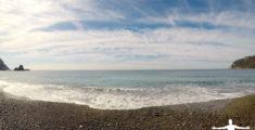 Spiaggia di renà la mattina del 19 settembre (video)