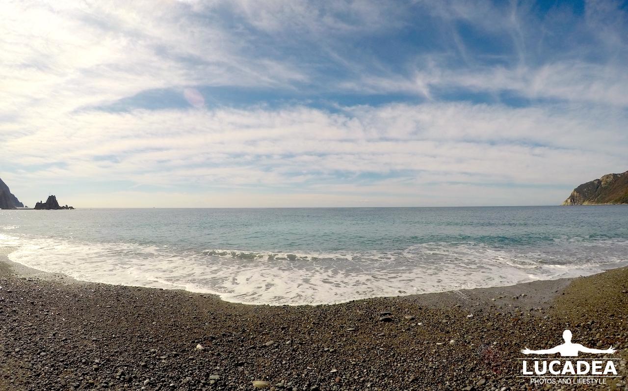 Spiaggia di renà la mattina del 19 settembre