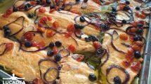 Salmone al forno al buffet della nave NeoRiviera (foto)