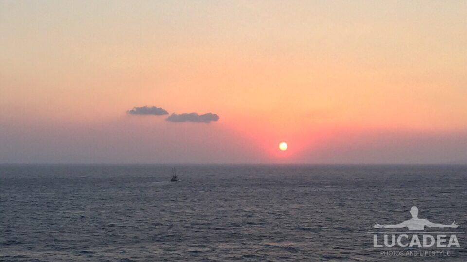 tramonto greco