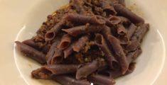 Fusi con salsiccia e radicchio: una pasta istriana gustata a Trieste (foto)